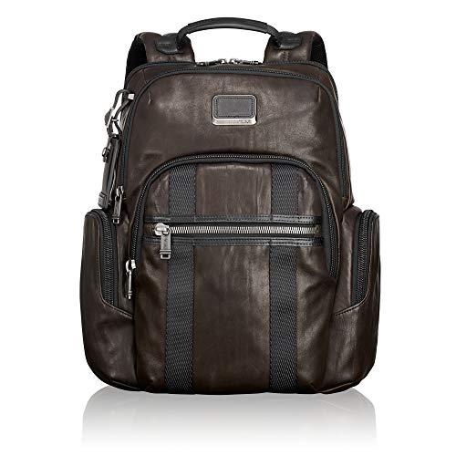 """Tumi Alpha Bravo - Nellis Laptop 15\"""" Rucksack, 22.3 Liter, Dark Brown Leather"""