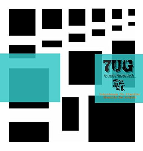 Designer Schablone 9 Quadrate, 9 Rechtecke (squares, rectangles)