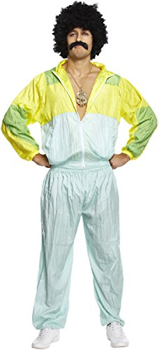 Shell Suit Fancy Dress Costume for Men - 36 to 38 inch chest