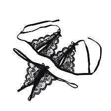ReooLy Femmes Dame Sexy Lingerie Dentelle sous-vêtements vêtements de Nuit g-String Lingerie