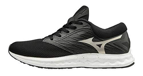 Mizuno - Zapatillas de Running Wave Polaris para Hombre Negro Size: 42.5 EU