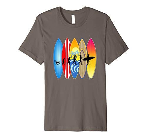 Lustiges Surfer-Entwicklungs-T-Shirt