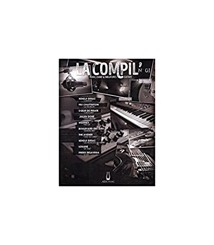 LA COMPIL N 01, Partitions piano, voix,