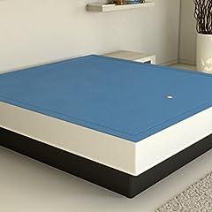 Idea Regalo - ATLANTIS Materasso ad Acqua Mono con Rete Riscaldamento e Tutti Gli Accessori Inclusi, 180 x 200 cm