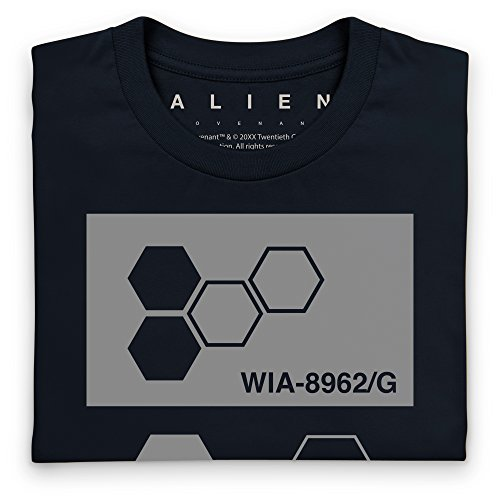 Official Alien: Covenant Passcode Logo T-Shirt, Herren Schwarz