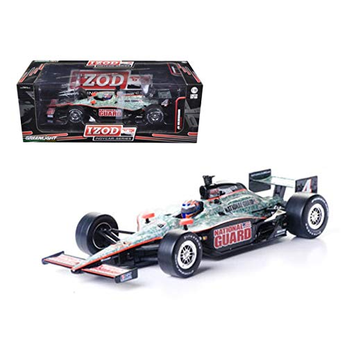2011 Izod Indy Car J.Hildebrand Jr. #4 Panther Racing \National Guard\ 1/18 Diecast Model Car by Greenlight (Diecast Car Indy)