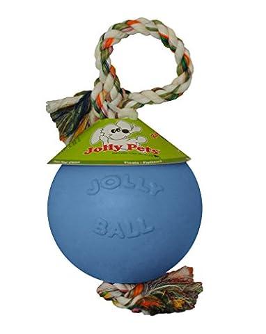Jolly Pets JOLL050B Hundespielzeug - Ball Romp-n-Roll, 15 cm, hellblau