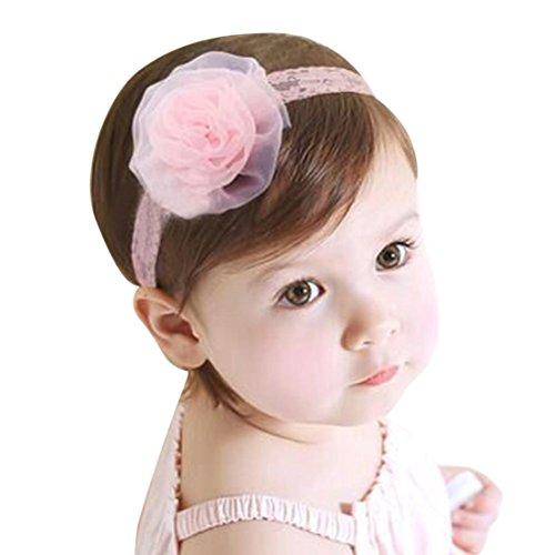Stirnbänder Transer® Baby Unisex Stirnband Halten Kopf Blume Sterne Haarband Babyschmuck Babygeschenke & Taufe Größe: 2 Monate bis 2.5 Jahre altes Baby (D)
