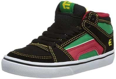 Etnies Kids Rvm Vulc, Chaussures de sport garçon - Noir (Green/Black/White), 38 EU (055 US)