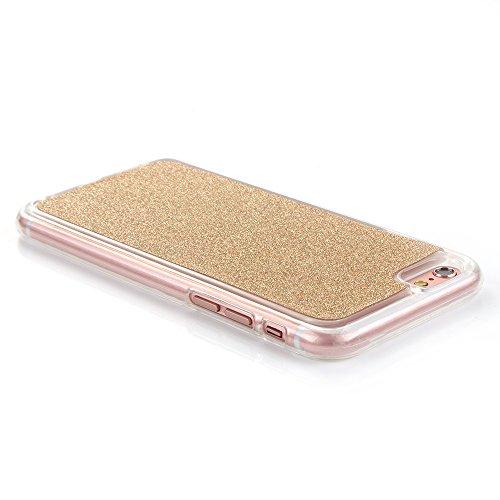 """MOONCASE iPhone 6S Plus Etui Glitter Silicone Gel TPU Housse Étui Case pour iPhone 6 Plus / 6S Plus 5.5"""" Or Or"""