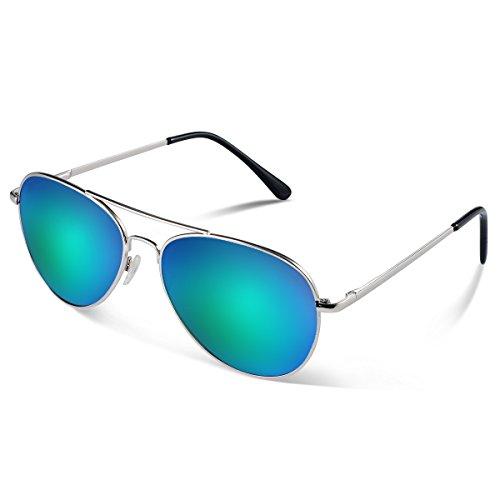enbrille Flieger Sonnenbrille UV400 Schutz Optimal Entwurf Herren und Frauen Sonnenbrillen ()