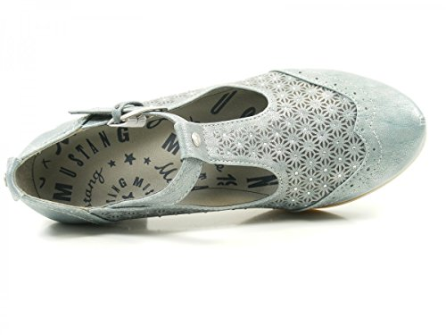 MUSTANG Chaussures 1187205 Gris Blau