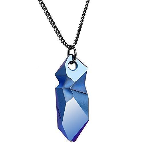 colore-blu-metallizzato-kaputt-pendente-progettato-da-jean-paul-gaultier-catena-regolabile-collana