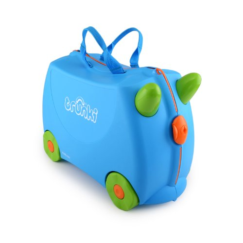 Trunki Ride-on Suitcase – Terrance (Blue)