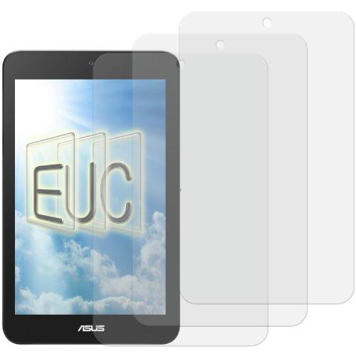 3 x Displayschutzfolie klar/wie unsichtbar für Asus Vivo Tab Note 8 (Asus Vivo Tab Case)