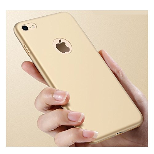 Ultra Sottile Custodia Cover Case Protettiva Apple iPhone 6Plus 6sPlus 5.5 Guscio Rigido (Nero) Oro
