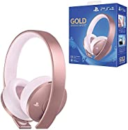 Playstation Gold Wireless Headset | ROSE GOLD EDITION (PS4) (PS4)