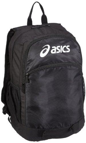 Asics Rucksack (ASICS Uni Rucksack, Black, 30x19x45 cm, 611805-0900-1)