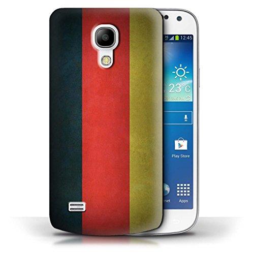 Etui / Coque pour Samsung Galaxy S4 Mini / Columbia/Colombie conception / Collection de Drapeau Allemagne/allemand
