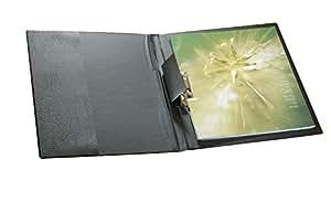 Durable 223001 Chemise Porte - Bloc à Pince avec Levier A4 100 feuilles Noir