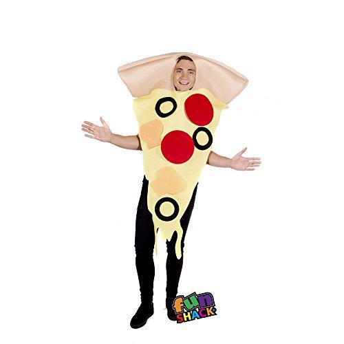 Fun Shack Herren Costume Kostüm, Pizza, Einheitsgröße