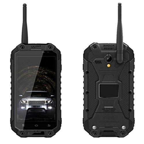Bestore - X8 IP68 Tri-Beweis wasserdichte staubdichte Shockproof MTK6592 1.7GHz Octa-Core 4.7 Zoll 1280 x 720 Pixel IPS HD Schirm 2G RAM + 32G ROM 13MP Kamera Dual-SIM 3G WCDMA NFC OTG PTT Walkie Talkie Simlock Frei Handy Smartphone (schwarz)