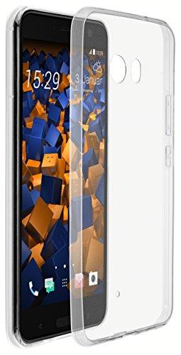 mumbi UltraSlim Hülle für HTC U11 Schutzhülle transparent (Ultra Slim - 0.70 mm)