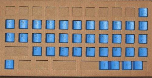 kbc-37-pbt-keycaps-set-de-37-touches-en-pbt-couleur-bleu-pour-switchs-cherry-mx-qwerty-ansi-us-inter