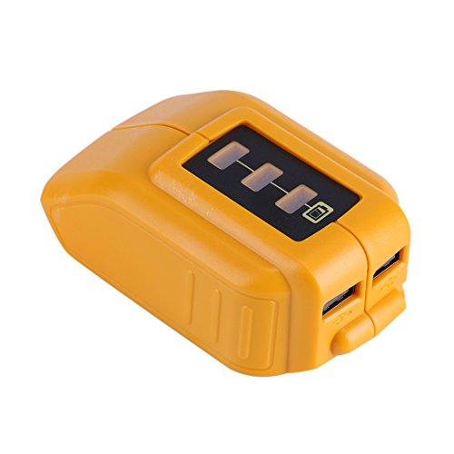 Asixx Adaptador de batería USB