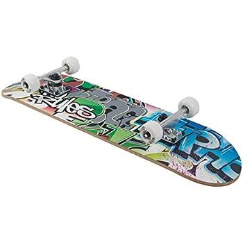 24 AREA Unisex Jugend Kinder Skateboard Lion Mehrfarbig