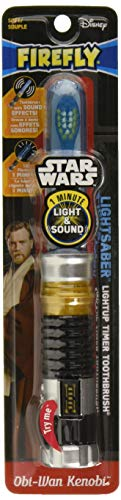 Firefly Star Wars Obi Wan Light Saber Soft Toothbrush by Firefly