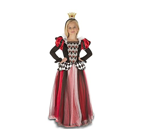 My Other Me Disfraz Reina de corazones para niña (Viving Costumes)