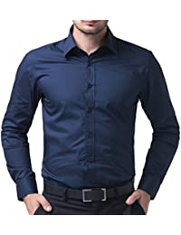 "BS Fashion Full Sleeve slim Fit Plain Casual Shirt for Man,Casual Shirts,100% Cotton Shirts,Plain Shirts Cotton,Casual Shirts for Men Office wear Or Daily wear.Cotton Casual Shirts …Colour And Size Choose according 16 colour avilable M=38"",L=40"",XL=42""…"