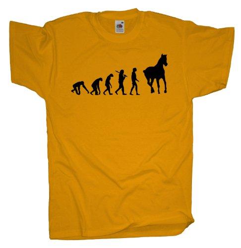 Ma2ca - Evolution - Pferde T-Shirt Sunflower