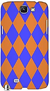 Timpax protective Armor Hard Bumper Back Case Cover. Multicolor printed on 3 Dimensional case with latest & finest graphic design art. Compatible with Samsung Galaxy Note II N7100 Design No : TDZ-22303