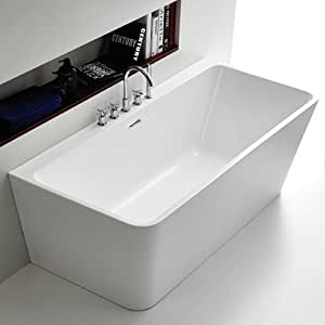 freistehende badewanne samos acrylbadewanne wanne. Black Bedroom Furniture Sets. Home Design Ideas