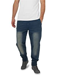 URBAN cLASSICS pantalon de survêtement-homme-denim tB483