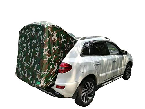 Mit dem Auto Reisen, Outdoor Camping Auto Zelt für Koleos, Ultralight Portable Car Tail Markise/Pergola/Dachzelt - Koleos Autoausrüstung,A (Auto Zelten)