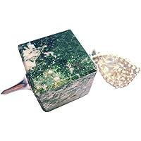 Massives Würfel Pendel verschiedene Steinsorten Amethyst Pyrite u.v.m. (Moos Achat) preisvergleich bei billige-tabletten.eu