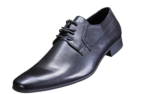 Reservoir Shoes - Chaussure Derbies Yvan Black Noir