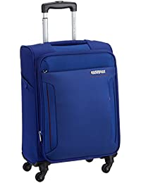 American Tourister Troy Polyester 56 cm Royal Blue Softsided Carry On (AMT TROY SP56 ROYAL BLUE)