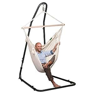 la siesta h ngemattenstuhl gesamth he computer zubeh r. Black Bedroom Furniture Sets. Home Design Ideas