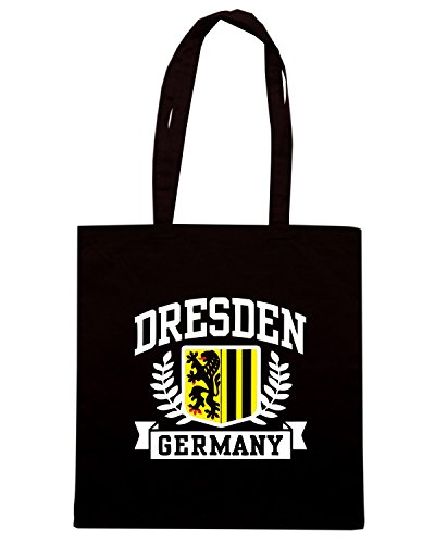 T-Shirtshock - Borsa Shopping TSTEM0160 dresden germany Nero