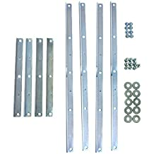 Ergotron 97-759 - Paquete de montaje compatible con soportes VESA MIS-D, MIS-E y MIS-F (acero)