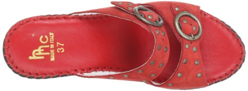 Hans Herrmann Collection 020808-70, Mules femme Rouge (Rot)
