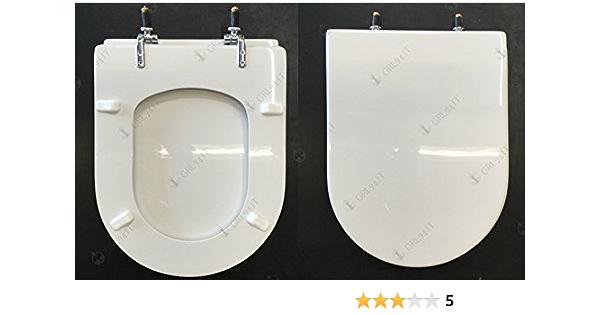Sedile Wc Dolomite Mod Clodia Serie Compatibile Amazon It Fai Da Te