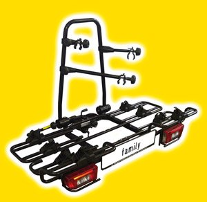 MFT Fahrradträger multi-cargo 2 family - 4 Räder