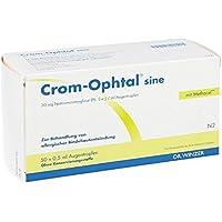 Crom Ophtal sine Edb Augentropfen 50X0.5 ml preisvergleich bei billige-tabletten.eu