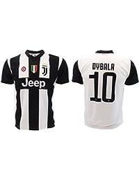 Camiseta de Fútbol Paulo Dybala 10 Juventus Home Temporada 2018-2019  Replica Oficial con Licencia ff7d0c9a64564