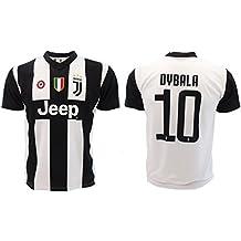 Camiseta de Fútbol Paulo Dybala 10 Juventus Home Temporada 2018-2019  Replica Oficial con Licencia 849228c54d7